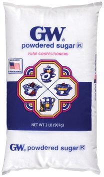 GW Pure Confectioners Powdered Sugar 2 Lb Bag