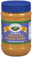 Maple Grove Farms Crunchy Peanut Butter 18 Oz Plastic Jar