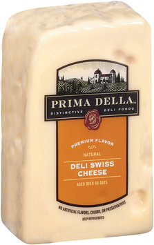 Prima Della™ Distinctive Deli Foods Natural Deli Swiss Cheese Half Loaf