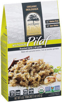TruRoots® Organic Multigrain Roasted Garlic Pilaf 5 oz. Box--TruRoots® Biologique Multigrain Pilaf a l'Ail Grille Boite de 5 oz.