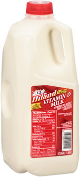 Hiland Vitamin D Milk 0.5 gal. Jug