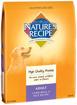 Nature's Recipe® Adult Lamb Meal & Rice Recipe Dog Food 15 lb. Bag