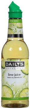 Daily's® Cocktails Non-Alcoholic Lime Juice 33.8 fl. oz. Bottle