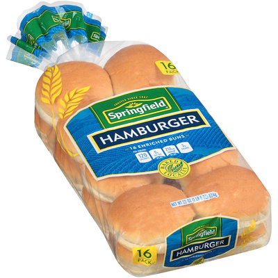 Springfield® Hamburger Buns