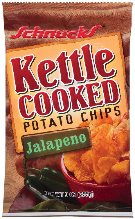 Schnucks Kettle Cooked Potato Jalapeno Chips 9 Oz Bag
