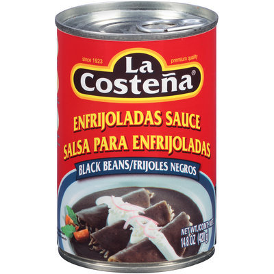 La Costena® Black Beans Enfrijoladas Sauce 14.8 oz. Can