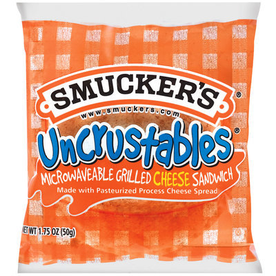 Smucker's Pre-Toasted Grilled Cheese Sandwich 1 Ct Uncrustables 1.75 Oz Package