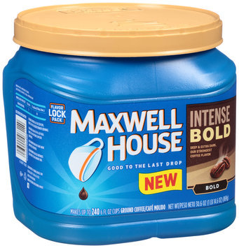 Maxwell House Intense Bold Ground Coffee 30.6 oz. Canister