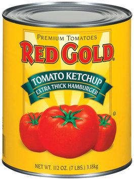Red Gold Tomato Extra Thick Hamburger Ketchup 112 Oz Can