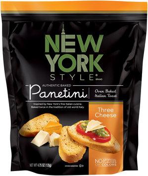New York Style® Three Cheese Panetini 4.75 oz. Bag