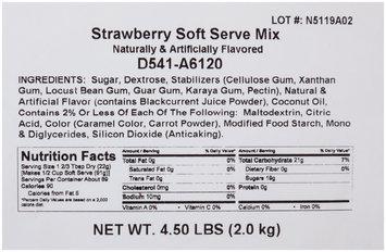 Dole® Strawberry Soft Serve Mix 4-4.5 lb. Bags