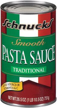 Schnucks® Smooth Pasta Sauce Traditional 26.5 Oz Can