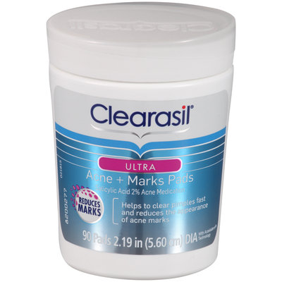 Clearasil® Ultra Acne + Marks Pads 90 ct Jar