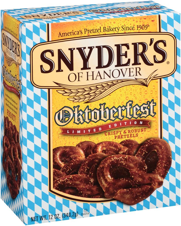 Snyder's Of Hanover Oktoberfest Pretzels