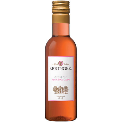Beringer® Pink Moscato Wine 187mL Bottle