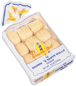 Evangeline Maid® Brown 'N Serve Rolls 12 ct Tray