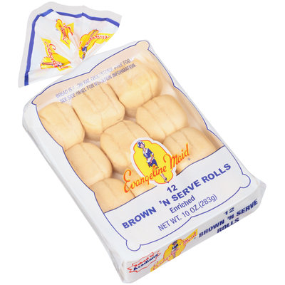 Evangeline Maid® Brown 'N Serve Rolls 12 ct Tray