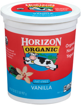 Horizon Organic® Fat-Free Vanilla Yogurt 32 oz. Tub