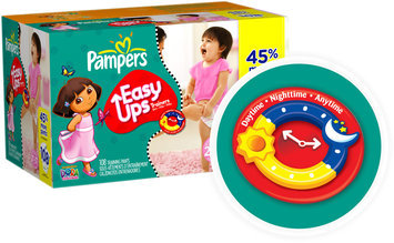 Pampers® Easy Ups Value Pack Girls Size 2T-3T Training Pants 108 ct Box