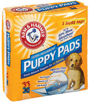 Arm & Hammer Ultra Absorbent Puppy Pads 33 Ct Bag