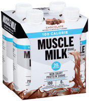 Muscle Milk® Chocolate Non Dairy Protein Shake 4-11 fl. oz. Cartons