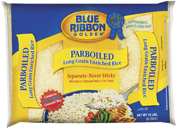 Blue Ribbon Golden Parboiled Long Grain Enriched Rice