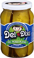 Del-Dixi® Dill Pickle Planks 16 fl. oz. Jar