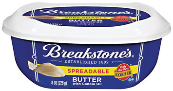 Breakstone's Spreadable W/Canola Oil Butter 8 Oz Tub