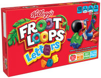 Kellogg's® Froot Loops™ Letters Fruit Flavored Snacks