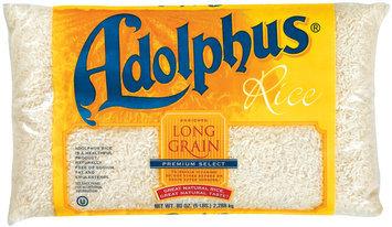 Adolphus Long Grain Enriched  Rice 80 Oz Bag