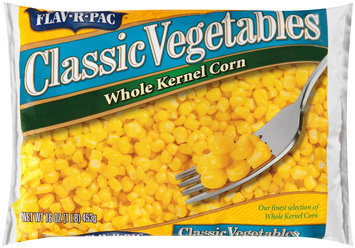 Flav-R-Pac® Classic Vegetables Whole Kernel Corn 16 oz. Bag