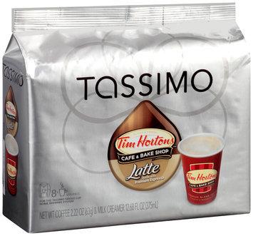 Tassimo Tim Hortons™ Latte T Discs 8 ct. Espresso & 8 ct. Milk Creamer