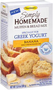 Fleischmann's® Simply Homemade® Banana Muffin & Bread Baking Mix 13.4 oz. Box
