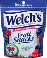 Welch's® Fruit Snacks Berries 'n Cherries