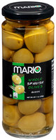Mario® Whole Spanish Queen Olives 7 oz. Jar