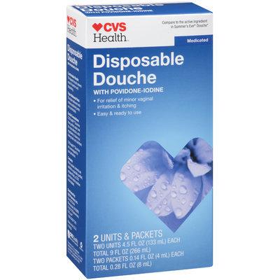 CVS Health™ Medicated with Povidone-Iodine Disposable Douche 4 ct Box