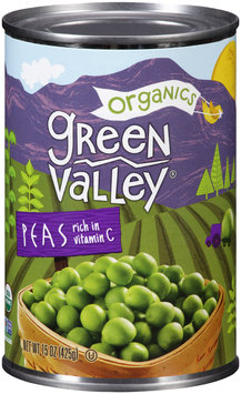 Green Valley® Organics Peas 15 oz. Can