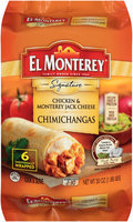 El Monterey® Signature Chicken & Monterey Jack Cheese Chimichangas