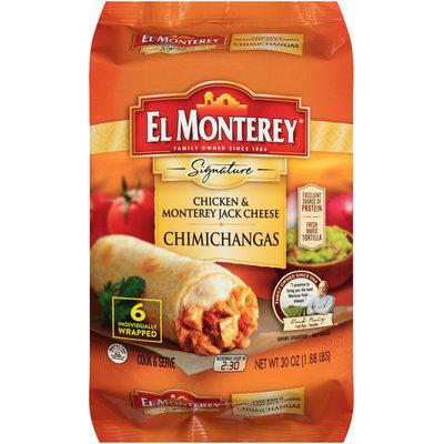 El Monterey® Signature Chicken & Monterey Jack Cheese Chimichangas