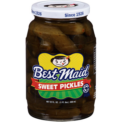 Best Maid® Sweet Pickles 22 fl. oz. Jar