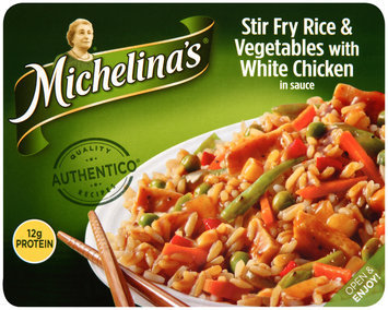 Michelina's® Stir Fry Rice & Vegetables with White Chicken 8 oz. Tray