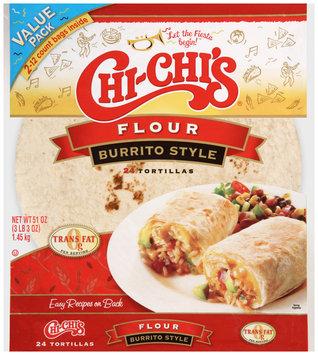 Chi-Chi's® Flour Burrito Style Tortillas 51 oz. Bag