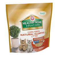 Arm & Hammer™ Healthy Home Solutions Corn Fibers Natural* Clumping Litter 10 lb. Stand-Up Bag