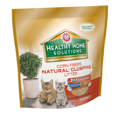 ARM & HAMMER™ Healthy Home Solutions Corn Fibers Natural* Clumping Litter