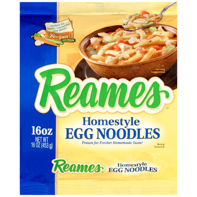 Reames® Homestyle Egg Noodles 16 oz. Bag