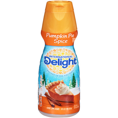 International Delight™ Pumpkin Pie Spice Gourmet Coffee Creamer 16 fl. oz. Bottle