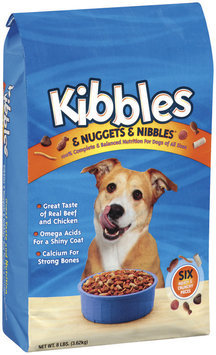Kibbles & Nuggets & Nibbles Beef & Chicken Dog Food 8 Lb Bag