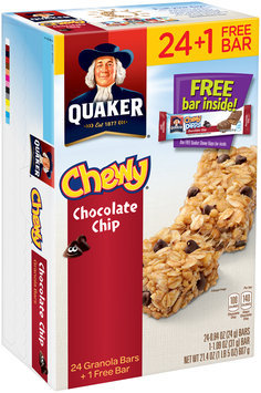 Quaker® Chewy® Chocolate Chip Granola Bars 25 Bar ct Box