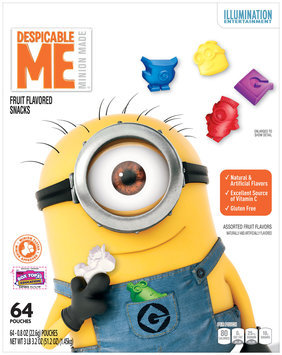 Betty Crocker™ Despicable Me™ Fruit Flavored Snacks 64-0.8 oz. Pouches