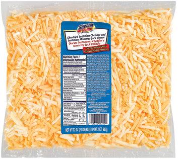 Special Value Shredded Imitation Cheddar & Monterey Jack Cheese 32 Oz Bag